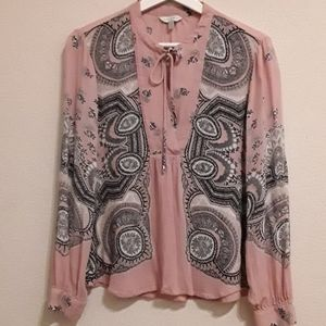 LUCKY Gypsy Blouse in Pink